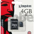 GENUINE KINGSTON MICRO SD CLASS 4 4GB SDHC MEMORY CARD