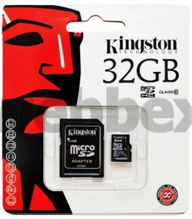 GENUINE KINGSTON MICRO CLASS 4 SD  32GB SDHC MEMORY CARD