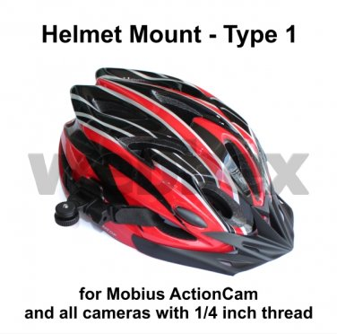 TYPE 1 808 #26 / MOBIUS ACTION CAMERA HELMET MOUNT