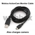 5 METRE MONITOR CABLE FOR THE MOBIUS ACTIONCAM