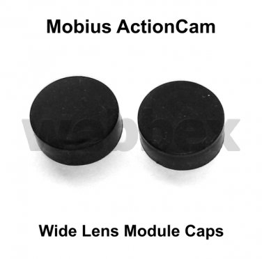 LENS CAPS FOR MOBIUS ACTION CAMERA WIDE ANGLE LENS MODULE