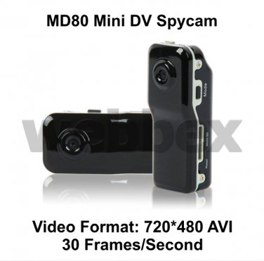 MD80 MINI DV POCKET SPY CAMERA 720x480
