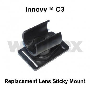 REPLACEMENT LENS STICKY MOUNT FOR THE INNOVV C3