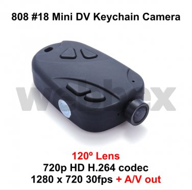 MINI DVR 808 #18 120° LENS MICRO HD CAMERA