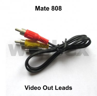 VIDEO OUT LEADS FOR MATE 808 CAMERAS