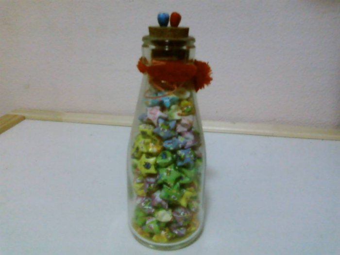 Bottled Stars / Saga seeds