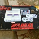 Nintendo SNES Gray Console (NTSC) in box