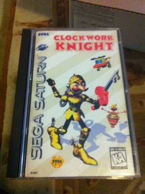 SEGA SATURN CLOCKWORK KNIGHT