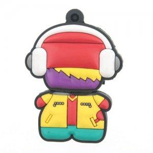 8GB Headphone Boy Design Flash Memory Disk