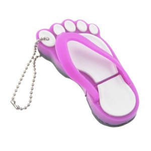 Lovely 2GB/4GB/8GB/16GB Slippers Design Flash Memory Disk