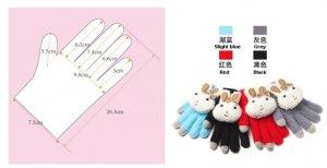Cutie  Rabbit Screen touch gloves, High Sensitivity & High Quality