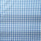 "1\4 "" LIGHT BLUE GINGHAM QUALITY COTTON FABRIC"
