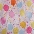 BALLOONS PRINT POLY COTTON MULTI COLOURED