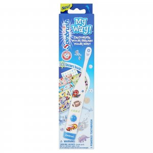 Arm and Hammer My Way Kids Spinbrush Toothbrush (6 Pack - Blue/Boys)