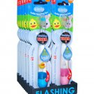 Twinklers B*Brite Animal Friends Liquid Flashing Toothbrush  (12 Pack)