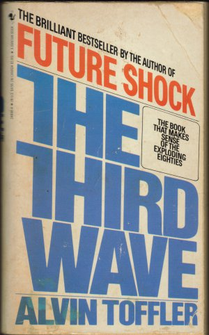 The Third Wave by Alvin Toffler (1980, 1982 ed.) (free shipping)
