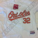 Baltimore Orioles Matt Wieters #32 Home White Jersey Size Medium