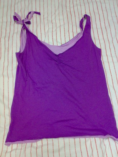 U2 LADIES TANK TOP (FAKE 2 PC)