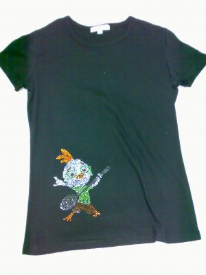 CHICKEN LITTLE DIAMANTE TEE