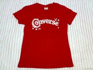 CONVERSE RED TEE