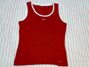 ESPRIT RED TANK TOP