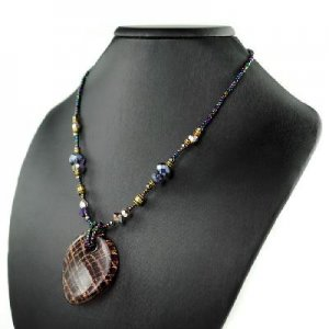 Fashion colorful glass necklaces