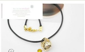 New Arrivals Jewelry,Korean style Hollow bag short necklace