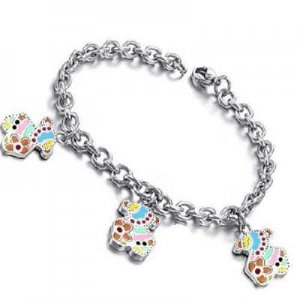 Fashion Jewelry charm Bracelet stainless steel
