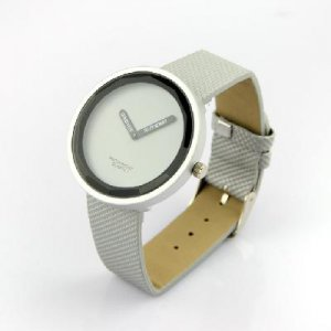 Stylish Silicone Jelly Quartz Calendar Unisex Wrist Watch Wristwatch