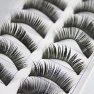 10 Pair Thick Long False Eyelashes Eye Lashes Makeup