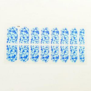 16 Style Nail Art Patch Decoration Sticker Foils Decals