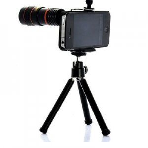 8 X Zoom Optical Telescope Camera Lens For iPhone 4