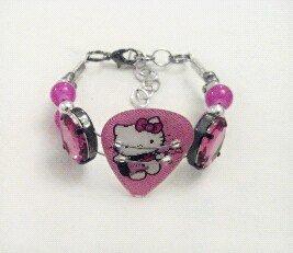 Hello Kitty Bracelet Guitar Pick