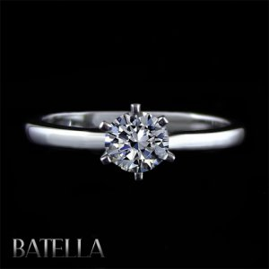 Certified .50 Ct D/VS2 Natural Round Diamond Solitaire Ring 14K White Gold Lady