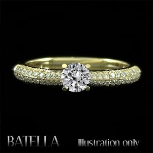 Certified .76 Ct I/VVS1 Natural Round Diamonds Engagement Ring 14k Yellow Gold