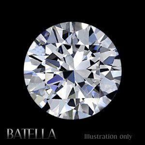 Certified 1.07 Carats D/SI1/EX Round Brilliant Cut Genuine White Loose Diamond