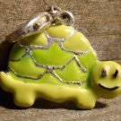 Vintage Happy Turtle Lucky Charm Yellow Green Fashion Jewelry Accessory Clasp