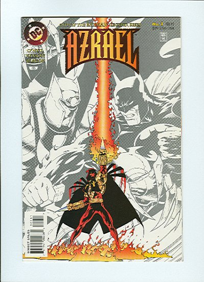 Azrael #1, VF Condition
