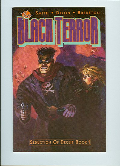 Black Terror #1, VF Condition