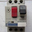 Telemecanique Motor Protector Circuit Breaker GV2-M10 GV2M10 4 - 6.3 Amp