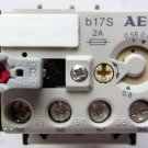 AEG Modicon B17S Overload Relay .56 - .8 Amp New 926-00 92600