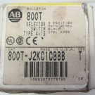 Allen Bradley 800T-J2KC1 3 Position Maintained Selector Switch 800T-J2KC1CBBB T