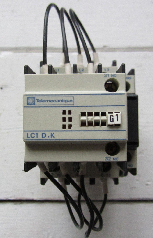 Telemecanique lc1dmk11g7 120 vac motor starter contactor lc1dmk11 lc1d k 36 amp Telemecanique motor starter