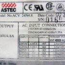 Astec ACV24N4.8 24 V 4.8 Amp Power Supply New 100 - 240 VAC Input