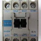 Mitsubishi S-N10 Magnetic Motor Starter Contactor 115 -120 V Coil 5 HP 440V SN10