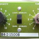 Banner B4-2-1500B Logic Module Plug In Photoelectric Amplifier Dark Light B4215