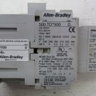 Allen Bradley 500-TO*930 509-TOD 100-F Size 00 Contactor 500TO930 Starter 690 32 509TOD