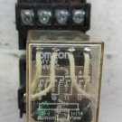 Omron MY4N MY4N-DC24 14 Blade 4PDT Relay w/ Base 24 VDC 5 Amp MT14-PC