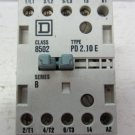 Square D Class 8502 PD2.10E Motor Starter Contactor 690 V 20 A 5 HP Max