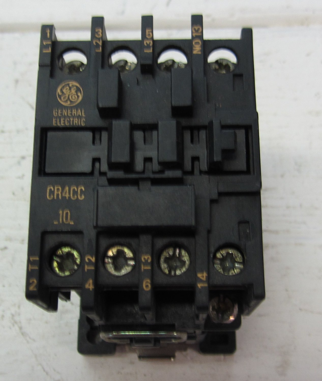 General electric cr4cc 10 cr4cc motor starter contactor for 3 hp motor starter